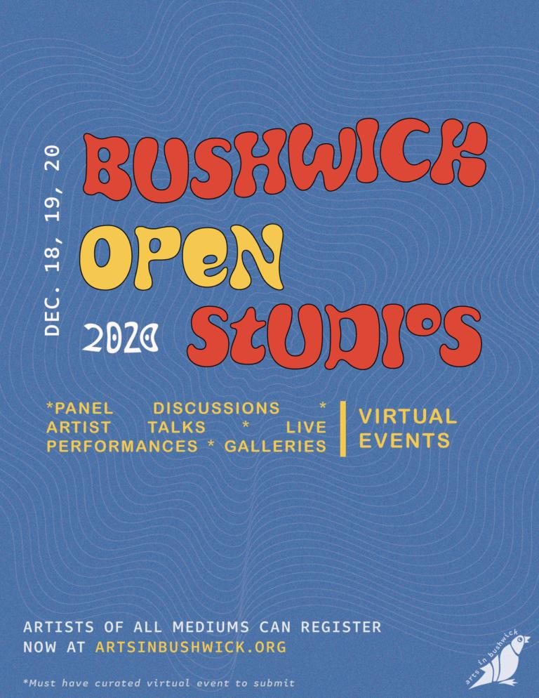 Bushwick Open Studios 2020: December 18, 19, 20