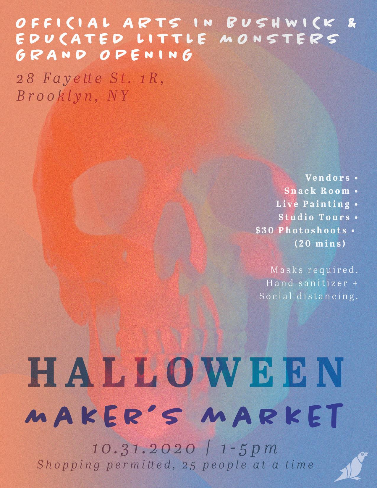 Halloween Makers Market