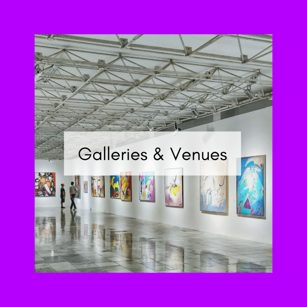 Gallery and venue members