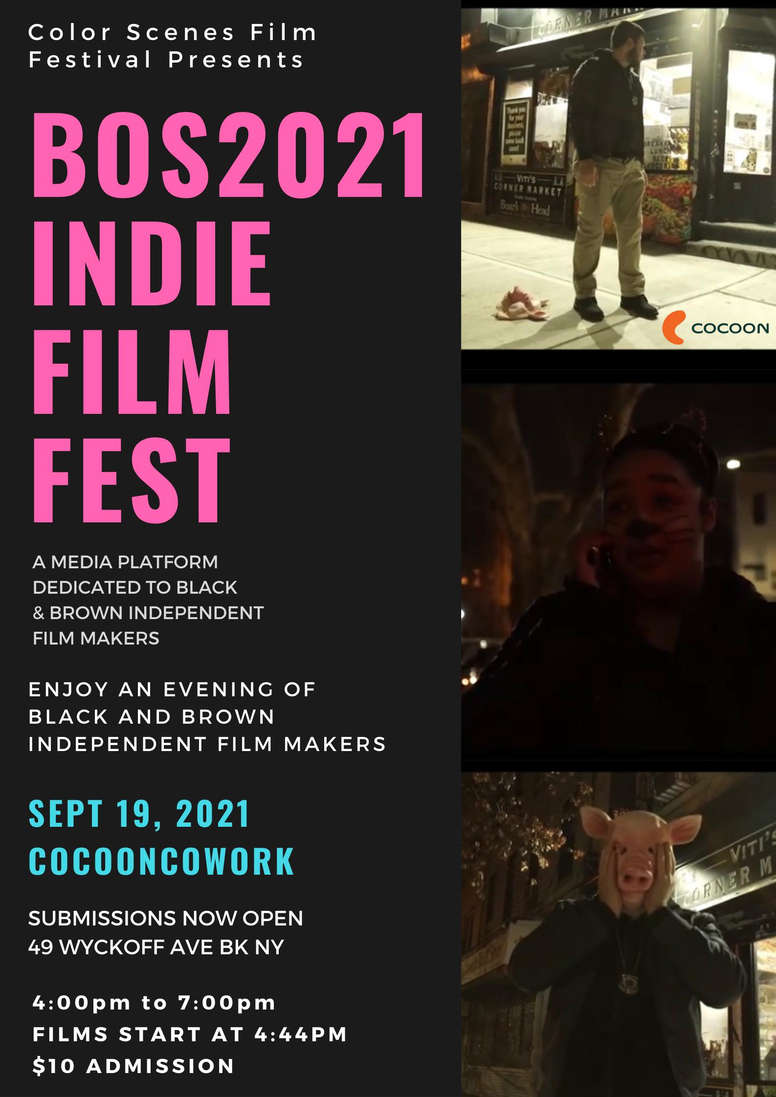 BOS2021 COLOR SCENES SHORT FILM FESTIVAL