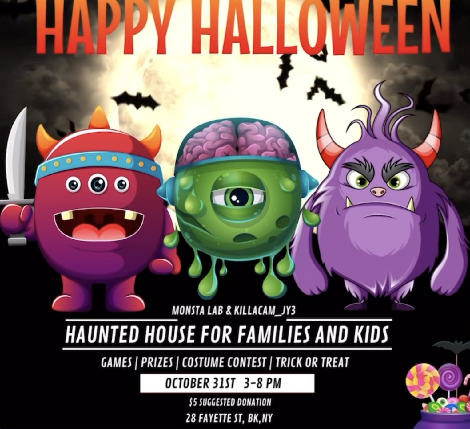 MONSTA HAUNTED HOUSE PARTY
